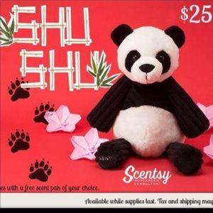 NWT Shu Shu Panda Scentsy Buddy 🐼